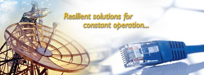 Resilien solutions for constant operation...
